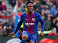 Real Betis are allegedly the frontrunners to sign defender Yerry Mina from Barcelona. #TransferTalk ...