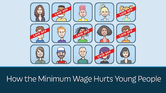 How the Minimum Wage Hurts Young People - YouTube