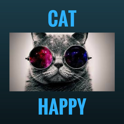 Cat Happy by Anthony Cowin