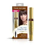 Cover Your Gray Hair Color Touch-Up Waterproof Brush-In - Color : Dark Brown