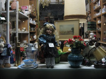 Creepy doll seen during the walk home
