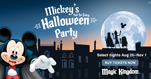 Mickey's Not-So-Scary Halloween Party | Excellent Vacation Homes