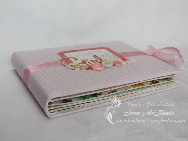 Scrapbook Album For Newborn Baby Girl Creative Scrapbooking