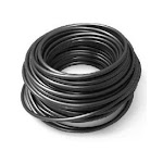 PPS Packaging 83033 Evaporated Cooler Tubing, Black Poly, 1/4-In.