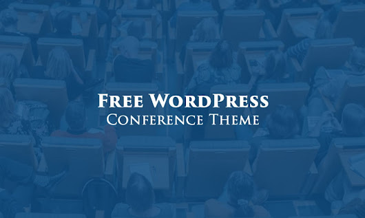 Fresh & Free WordPress Theme for Your Conference Website