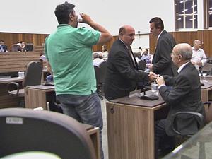 Parlamentar foi cassado por quebra de decoro em Itapetininga (Foto: Reprodução/TV TEM)