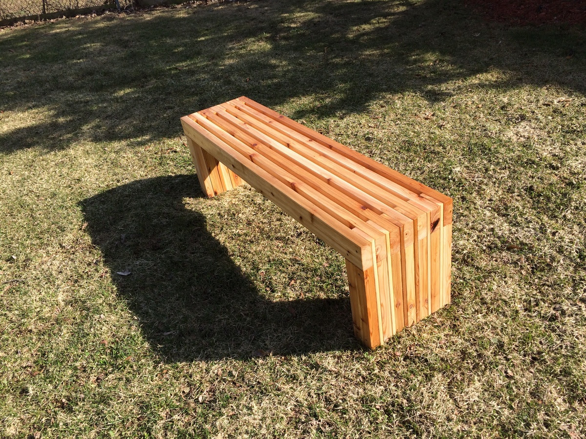 Ana White | DIY Patio Table & Bench - DIY Projects
