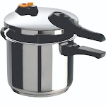 T-Fal 6.3 Qt. Pressure Cooker - Stainless Steel