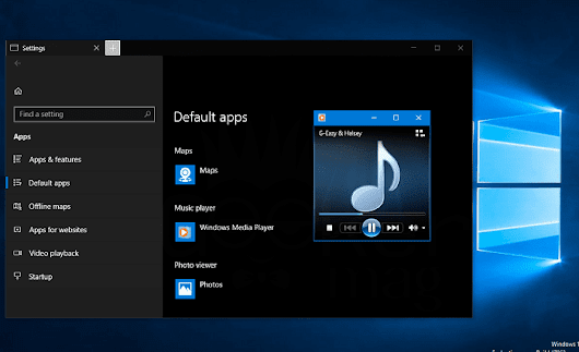 How to Make Windows Media Player Default in Windows 10