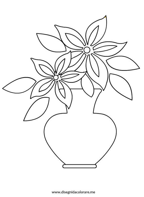 Disegni Fiori Stilizzati Da Colorare : disegni, fiori, stilizzati, colorare, Disegni, Fiori, Stilizzati, Coloring, Drawing