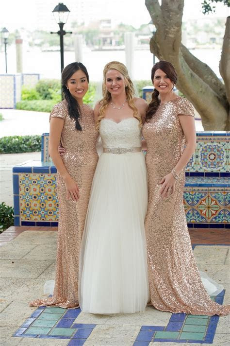 Blush and Gold Romantic, Glitzy Wedding {Andi Diamond