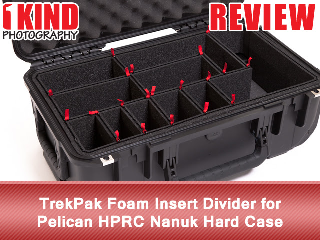 Review TrekPak Foam Insert Divider Pelican HPRC Nanuk