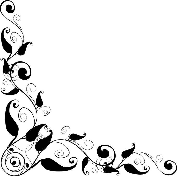 Black And White Clipart Borders Free Download Best Black And White