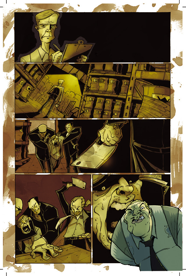 "Page 7 of ""Chew"" issue 2."
