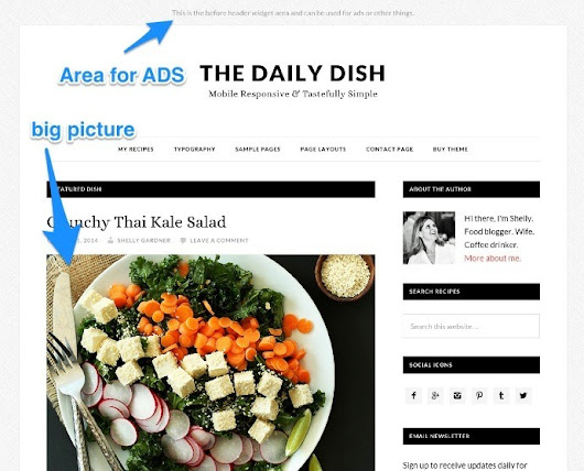 Daily dish pro theme review: The best food blog theme - WP Result