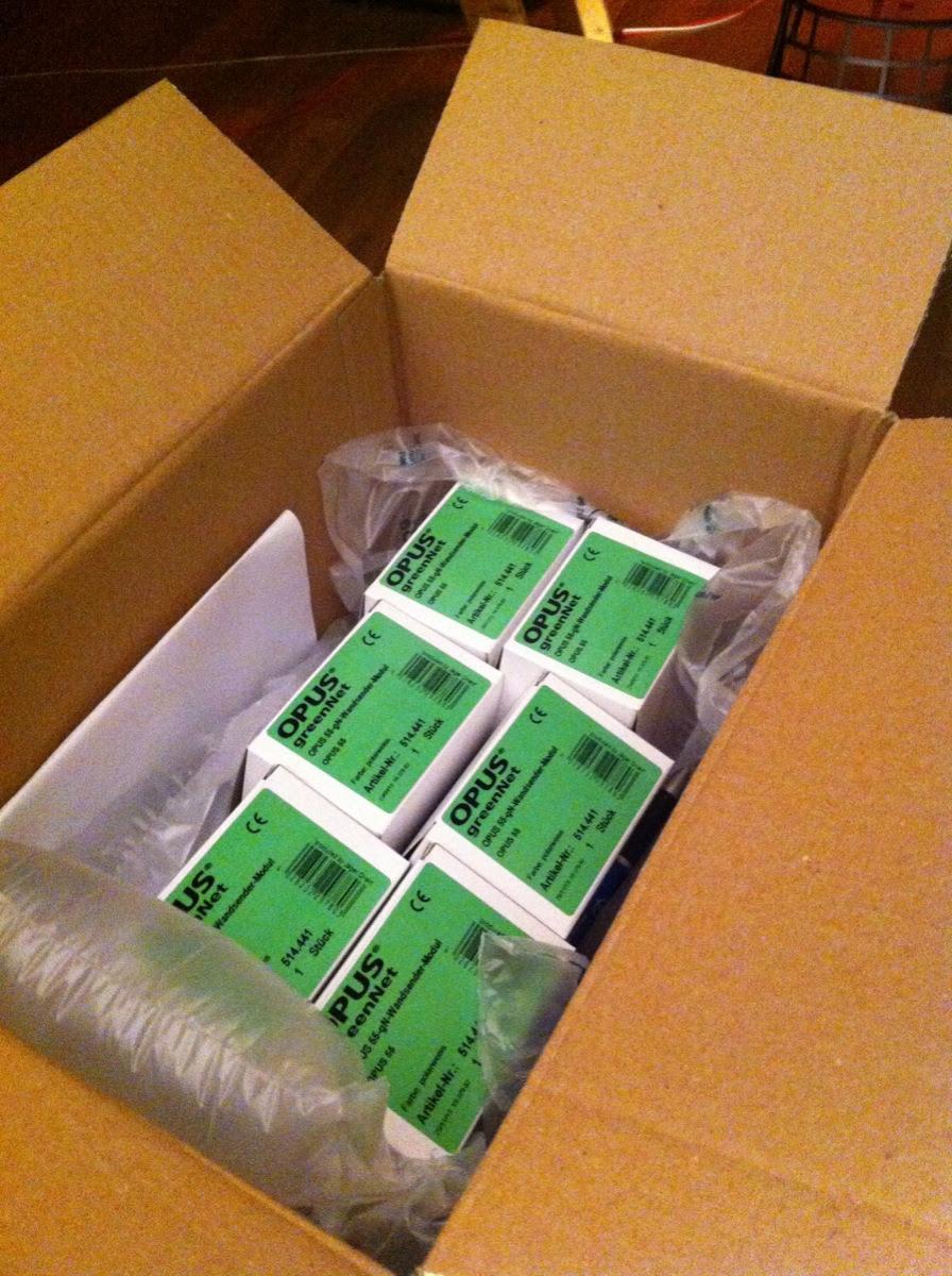 Opus 55 Schalter in der Verpackung