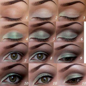 Техники макияжа