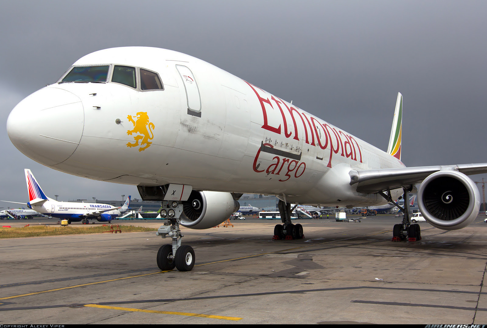 Ethiopian Airlines Cargo Boeing 757-200PCF in Moscow