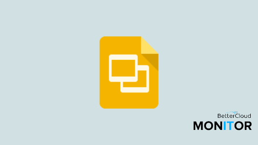 How to Use Speaker Notes in Google Slides - BetterCloud Monitor