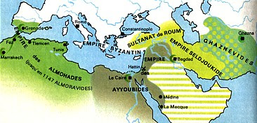 La Carte Du Monde Arabe