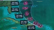 hurricane maria update wednesday 10a