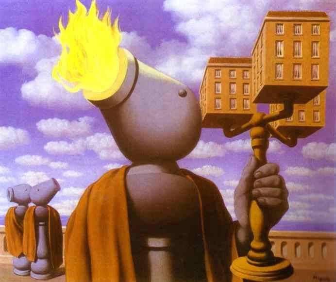 Cicero, 1947 Rene Magritte