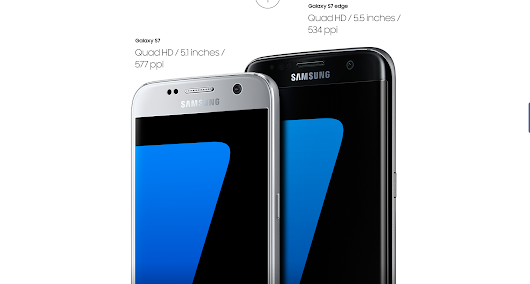Samsung Galaxy S7 and S7 Edge Announced: What's new? - Tweak2