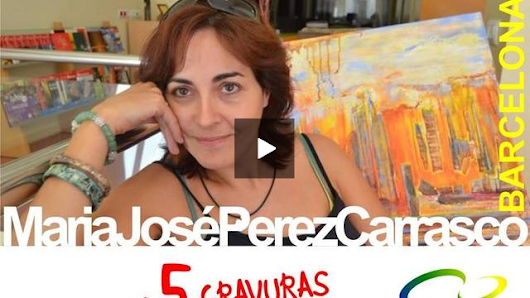 Maria Jose Carrasco art in printing&painting my own lenguage
