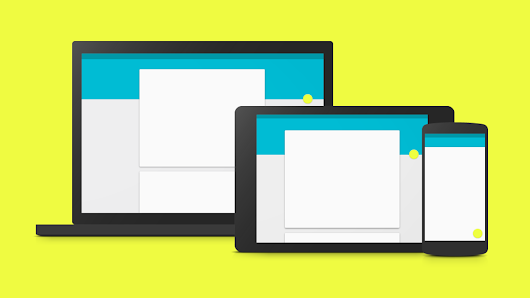Material Design is Google's new visual look for Android, Chrome OS, and more