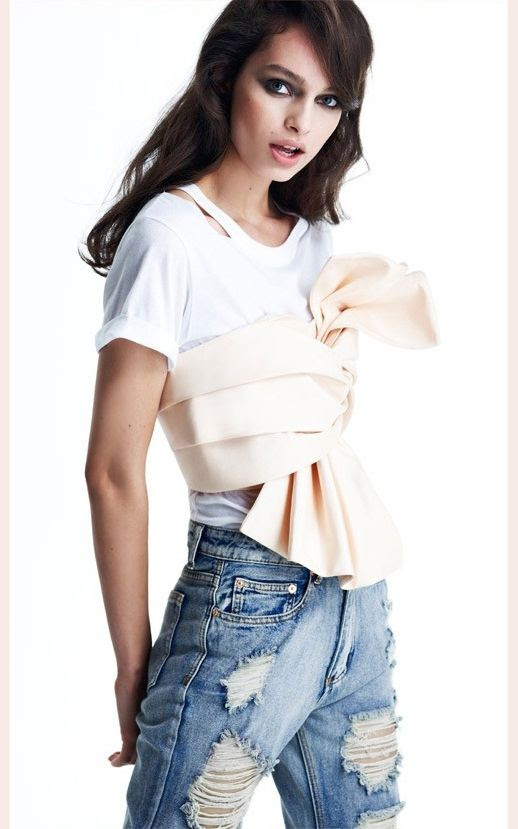 Le Fashion Blog New Way To Wear Bustier Crop Top White Cut Out Tee Distressed Boyfriend Jeans Nasty Gal In A Slash Tee Nude Cameo Found Out Bustier Summer Style Inspiration photo Le-Fashion-Blog-New-Way-To-Wear-Bustier-Crop-Top-White-Cut-Out-Tee-Distressed-Boyfriend-Jeans.jpg