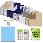 Cricut Modern Graphics Deluxe Paper, Pens, Mat, And Tool Bundle