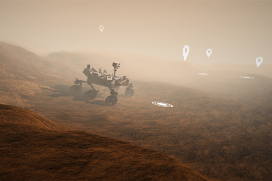 Mars: A virtual reality tour of the Red Planet