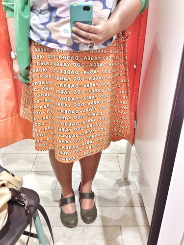 the yabba-dabba-doo skirt