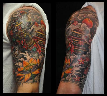 Depiction Tattoo Gallery Tattoos Half Sleeve Japanese Half