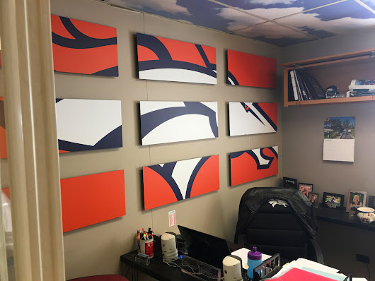 UltraBoard Making the Denver Broncos Offices Look Good - UltraBoard