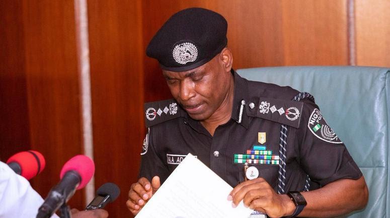 Inspector-General of Police (IGP), Mohammed Adamu.
