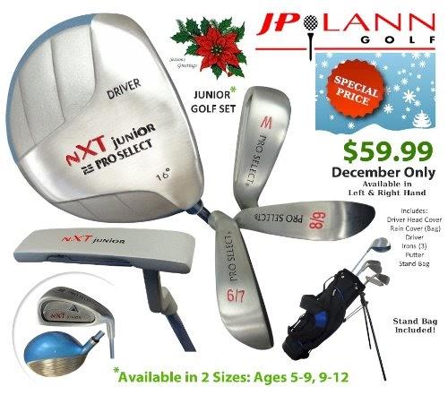 369a890c9dbd Kids' Clubs Store Online: Pro Select NXT Junior Golf Club Set by JP ...