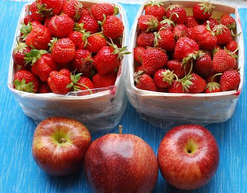 CSA 2012-Week 1 Fruit