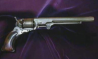 Arma utilizada por Tex na Guerra da Secessão