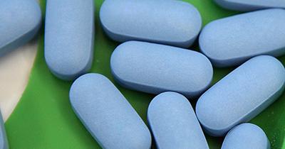 Photo of HIV medication