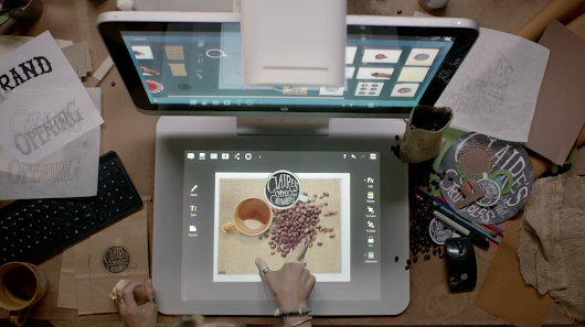 HP Celebrates Human Hands in This Ad for Its Wild New 3-D Touch Computer