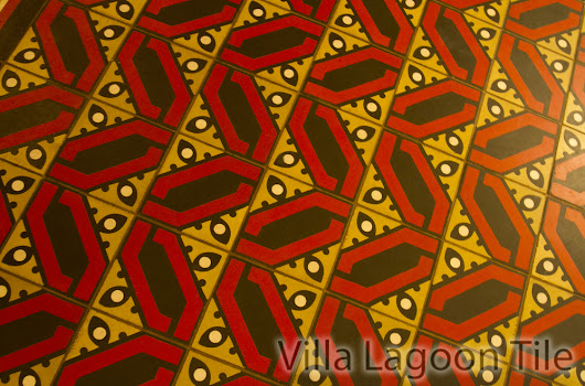 Bold Cement Tile in the Fairmont Copley Plaza Hotel - Cement Style