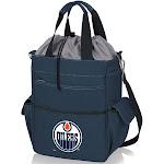 Picnic Time 614-00-138-124-10 Edmonton Oilers - Activo Cooler Tote - Navy