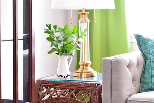 DIY Scandi Inspired Vase With Tape - Casa Watkins Living