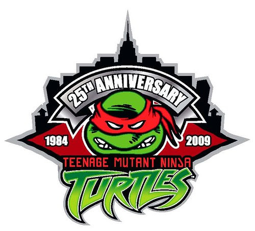 Peppercom : TMNT 25th Anniversary logo [[ Via Steve Murphy ]]