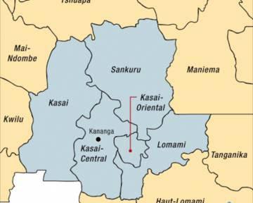 Las cinco provincias en las que la región fue dividida en 2015.