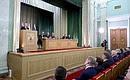 Нарасширенном заседании коллегии Генеральной прокуратуры Российской Федерации.