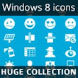 Huge collection of Windows 8 icons by Iconshock