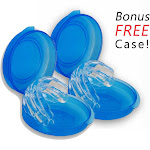 2 Snore Relief Mouthpiece - Anti Snoring Aid Mouthguard - Oral Stop Snoring Device