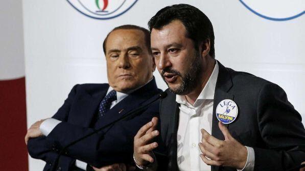 """Salvini: """"Il centrodestra è unito, se Di Maio dice 'Forza Italia fuori' lo saluto"""""""